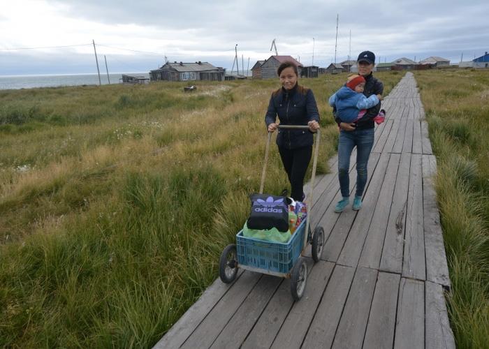 The island of Kolguyev. (Thomas Nilsen/The Independent Barents Observer)