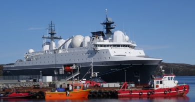 Norway patrolling Russia's military activity in Arctic with new intelligence vessel
