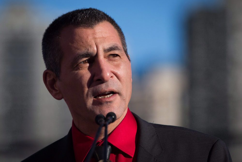 Minister of Fisheries, Oceans and the Canadian Coast Guard, Hunter Tootoo, has resigned from the federal cabinet. He is also leaving the Liberal caucus. (Darryl Dyck/THE CANADIAN PRESS)