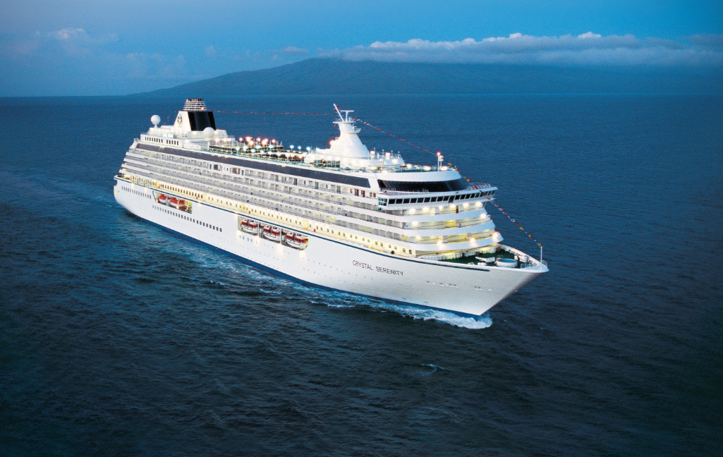 The Crystal Serenity is planning a 32-day voyage through the Northwest Passage this summer. (Handout photo/The Canadian Press)