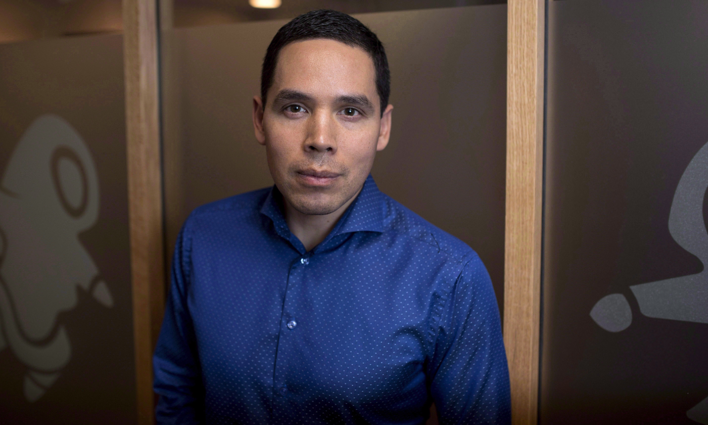 """To overturn the now 30-year high rates of suicides in our communities, we need to think big and we need the Canadian community to think big with us ,"" says Canadian Inuit leader Natan Obed. (Justin Tang/The Canadian Press)"