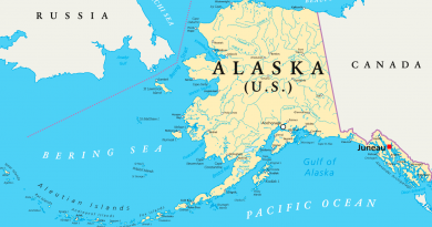 The Norwegian flagged tanker «Champion Ebony» ran aground on Nunivak Island, 135 miles west of Bethel in the Bering Sea. (iStock)