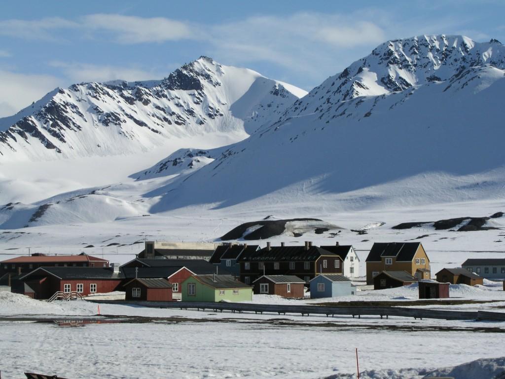 International Research Village Ny Alesund on Spitsbergen. (Irene Quaile/Deutsche Welle)
