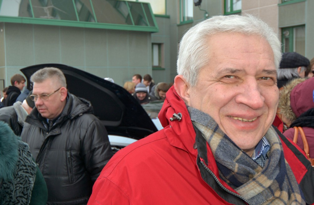 """Andrey Zolotkov is happy about the outcome of the """"Lepse"""" project. (Thomas Nilsen/The Independent Barents Observer)"""