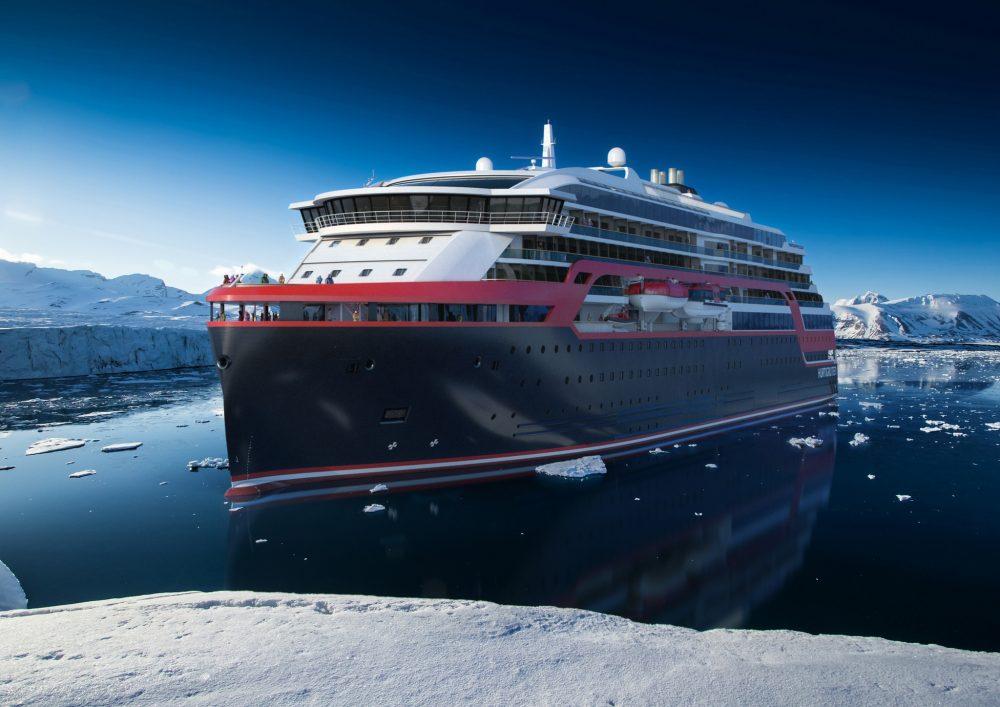 Arctic adventure tourism is top priority for Norwegian company Hurtigruten. (rolls-royce.com)