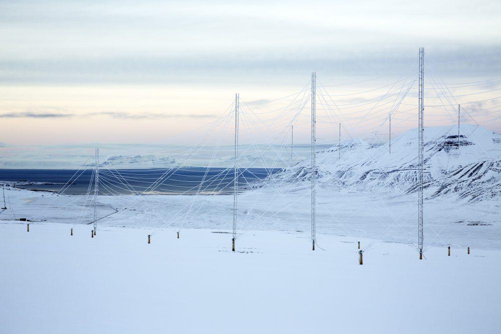 Radar antennas at the European Incoherent Scatter Scientific Association (EISCAT) facility on Breinosa, Svalbard, Norway October 24, 2015. (Anna Filipova/REUTERS)