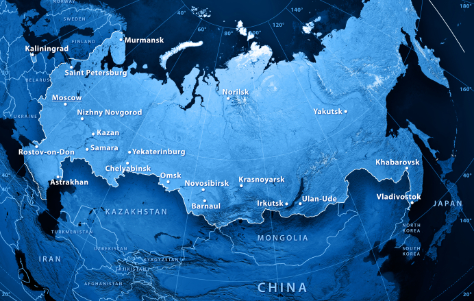 Russia's Northern Sea Route is an increasing focus for Russia. (iStock)