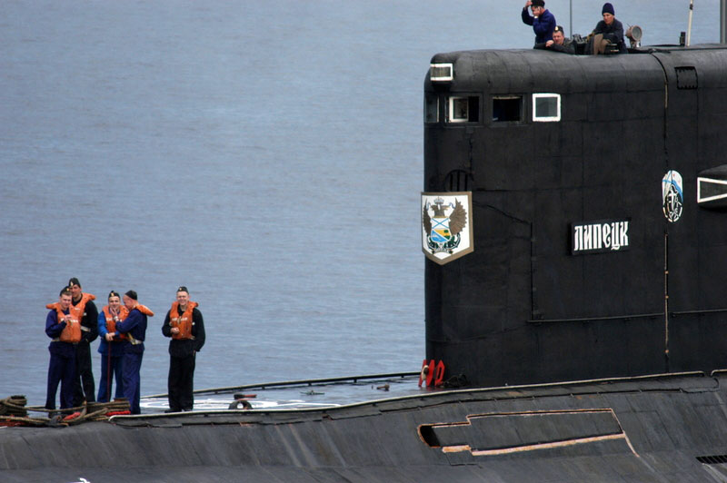 Crews on Russian submarines have been out at sea on many more voyages this winter than ever before over the last 25 years. (Thomas Nilsen/The Independent Barents Observer)