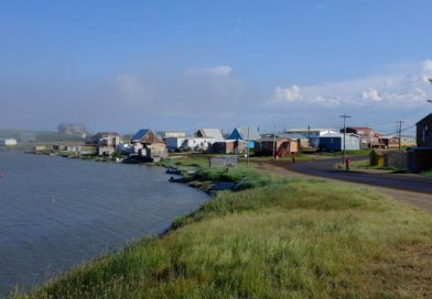 Blog: How two towns in the Canadian Arctic get their food