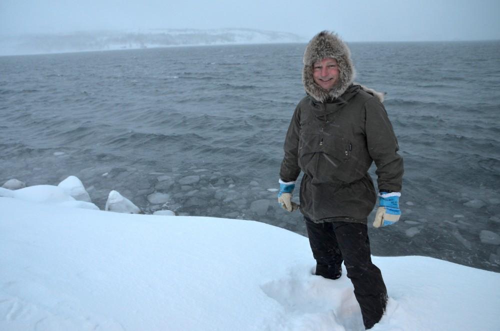 Arne Liaklev with Naturvernforbundet in Finnmark. (Thomas Nilsen/The Independent Barents Observer)