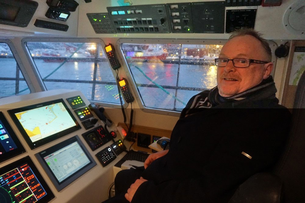 Per Sandberg is Norway's Minister of Fisheries. (Thomas Nilsen/The Independent Barents Observer)