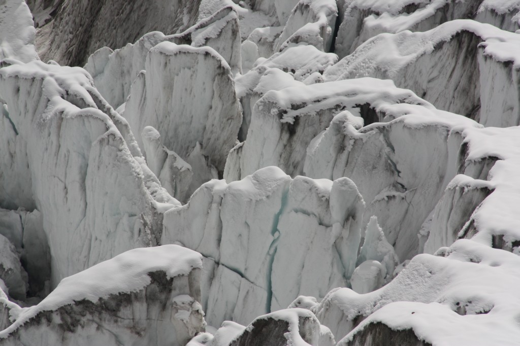 Glaciers – beautiful but highly endangered in our warming age. (Irene Quaile/Deutsche Welle)