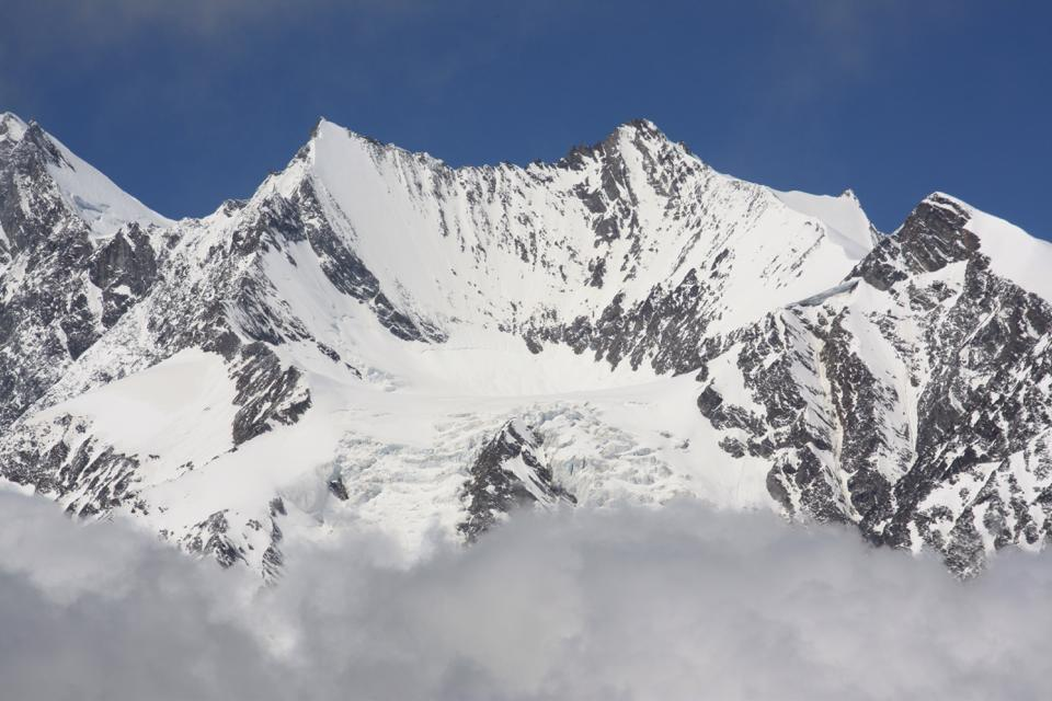 Alpine glacier – endangered species? (Irene Quaile/Deutsche Welle)