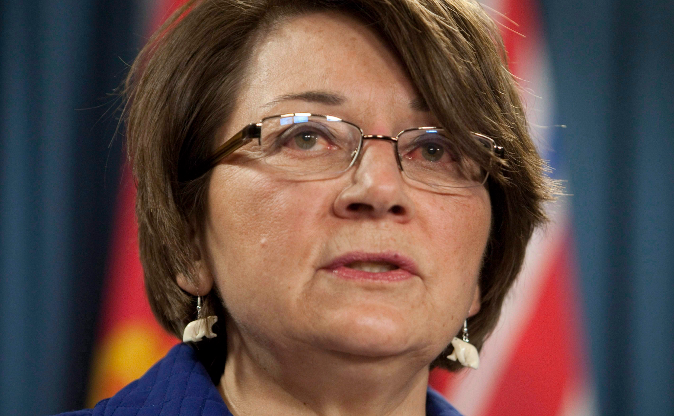 Inuit leader Mary Simon (pictured above in a 2010 file photo) was named as a Minister's Special Representative for the Arctic by the federal government on Friday. (Adrian Wyld/The Canadian Press)