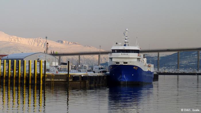 Less ice, more shipping (Irene Quaile/DW, Tromso)