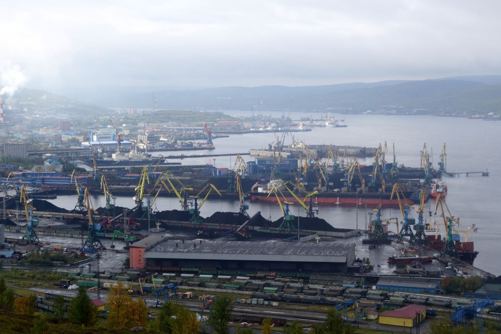Figures from the Association of Russian Sea Ports show that Murmansk's port in Arctic Russia had a growth in goods turnoverof 34 per cent year-on-year in the first six months of 2016. (Atle Staalesen/The Independent Barents Observer)