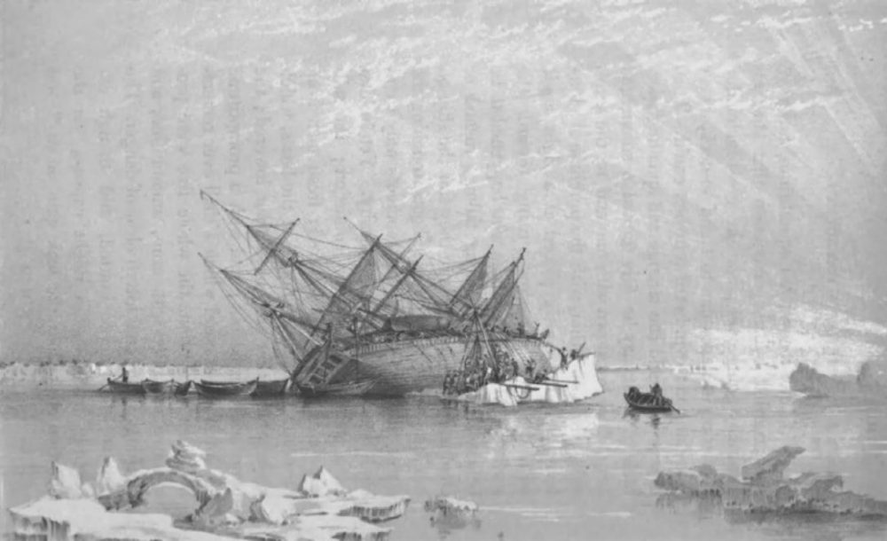 HMS Terror served in the War of 1812 and took part in the first British expedition to circumnavigate Antarctica before signing on the doomed voyage.