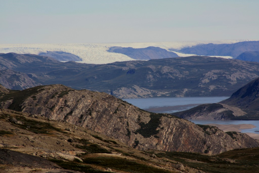 Greenland: of ice and rock… (Irene Quaile/Deutsche Welle)