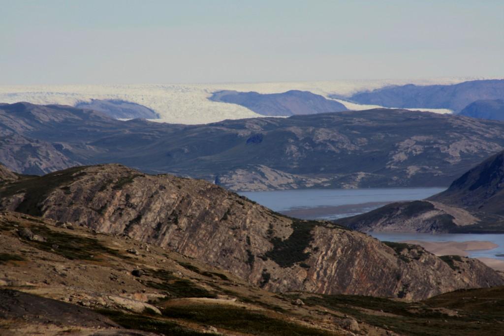 Greenland: of ice and rock… (Irene Quaile/Deutsche Welle)