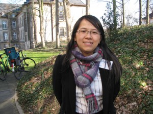 Lina Li from the Adelphi think-tank told me pollution concerns could speed up China's climate action (Irene Quaile/DW)