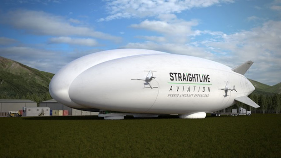 Straightline Aviation has ordered 12 hybrid, hi-tech, heavy-lift aircraft – developed by Lockheed Martin in California.