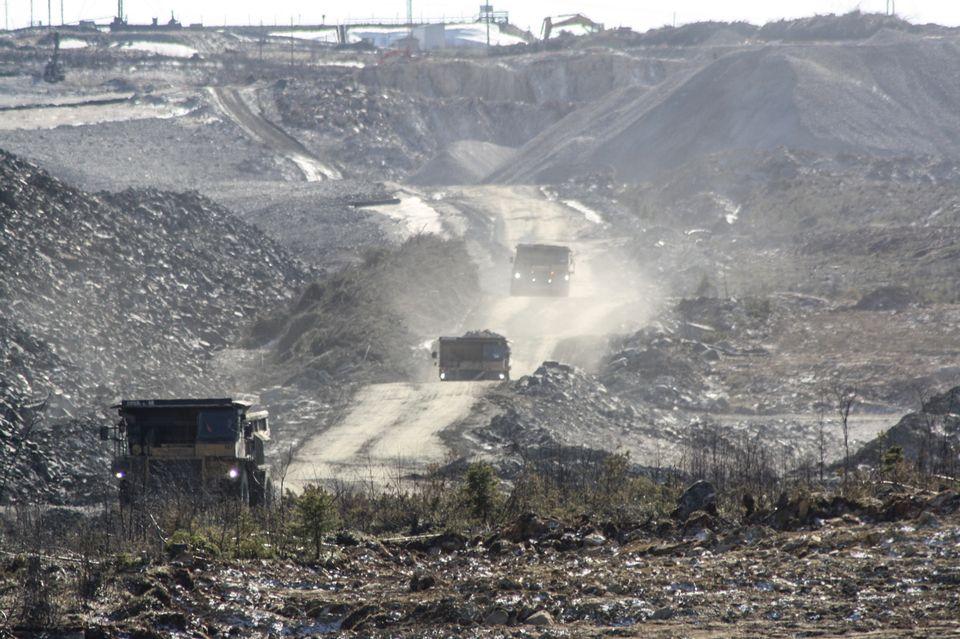 Mining operations in full swing in Sotkamo, eastern Finland. (Pasi Peiponen / Yle)