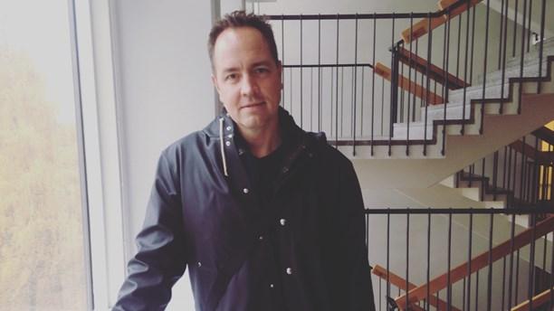 Björn Stein of the directing duo Mårlind & Stein. (Karin Nilsson/Radio Sweden)