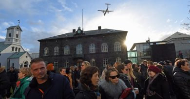 Iceland's Pirate Party leads polls few days before elections