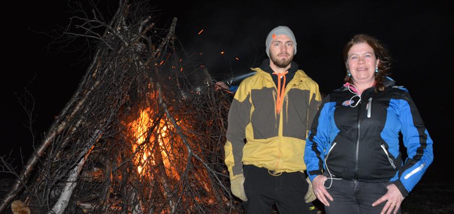 Nina Karin Skogan and Brage Hesenget Christensen. (Atle Staalesen/The Independent Barents Observer)