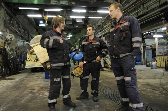 Smiles in Kiruna, northern Sweden, as LKAB again makes profits. (Trude Pettersen/The Independent Barents Observer)