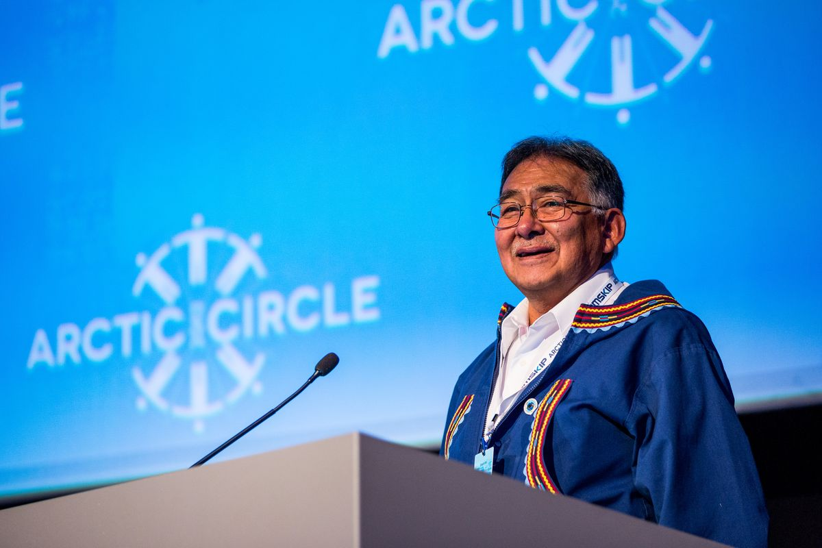 Edward S. Itta was known as an eloquent and influential voice for Inupiaq values in Alaska, Washington, D.C., and beyond. (Loren Holmes / Alaska Dispatch News)