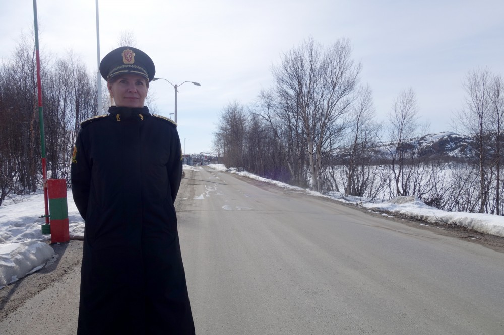 Head of East Finnmark Police District Ellen Katrine Hætta. (Atle Staalesen/The Independent Barents Observer)