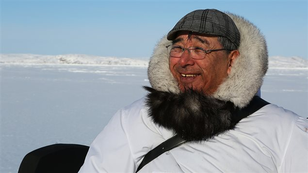 Inuit seal hunter Joannie Ikkidluak. (Alethea Arnaquq-Baril)