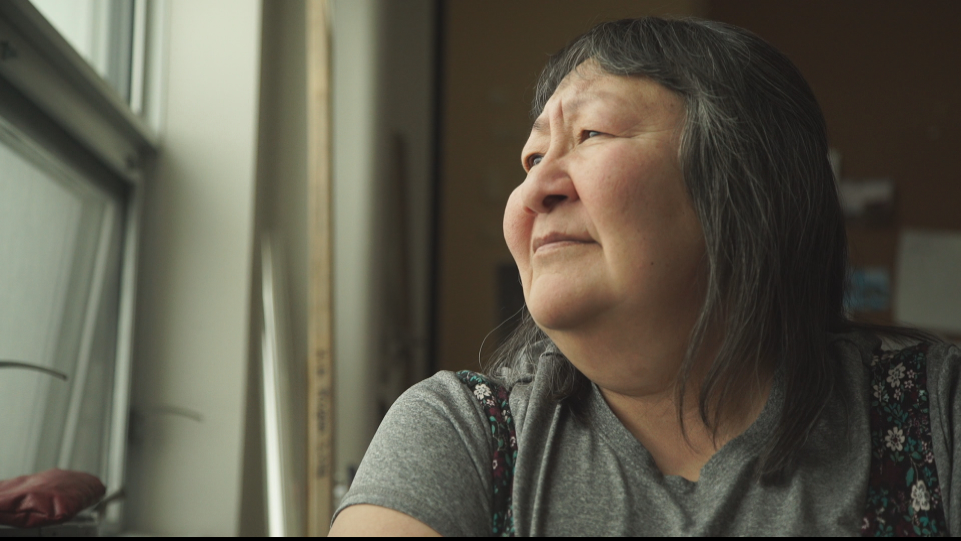 """When we used to go to our (hunting) camp, we'd see muskoxen all around,"" Julia Ogina says. ""Now we're lucky if we get to see two or three."" (Eye on the Arctic)"