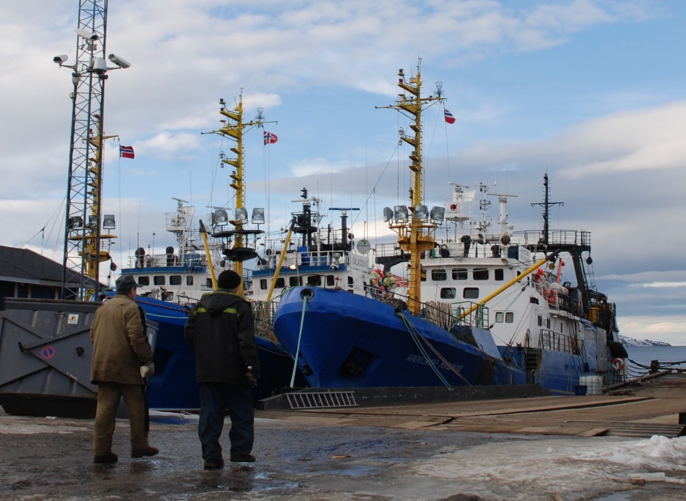 A new deal follows a previously signed fishing industry agreement on bottom trawling in the Norwegian Arctic from May this year.(Atle Staalesen/The Independent Barents Observer)