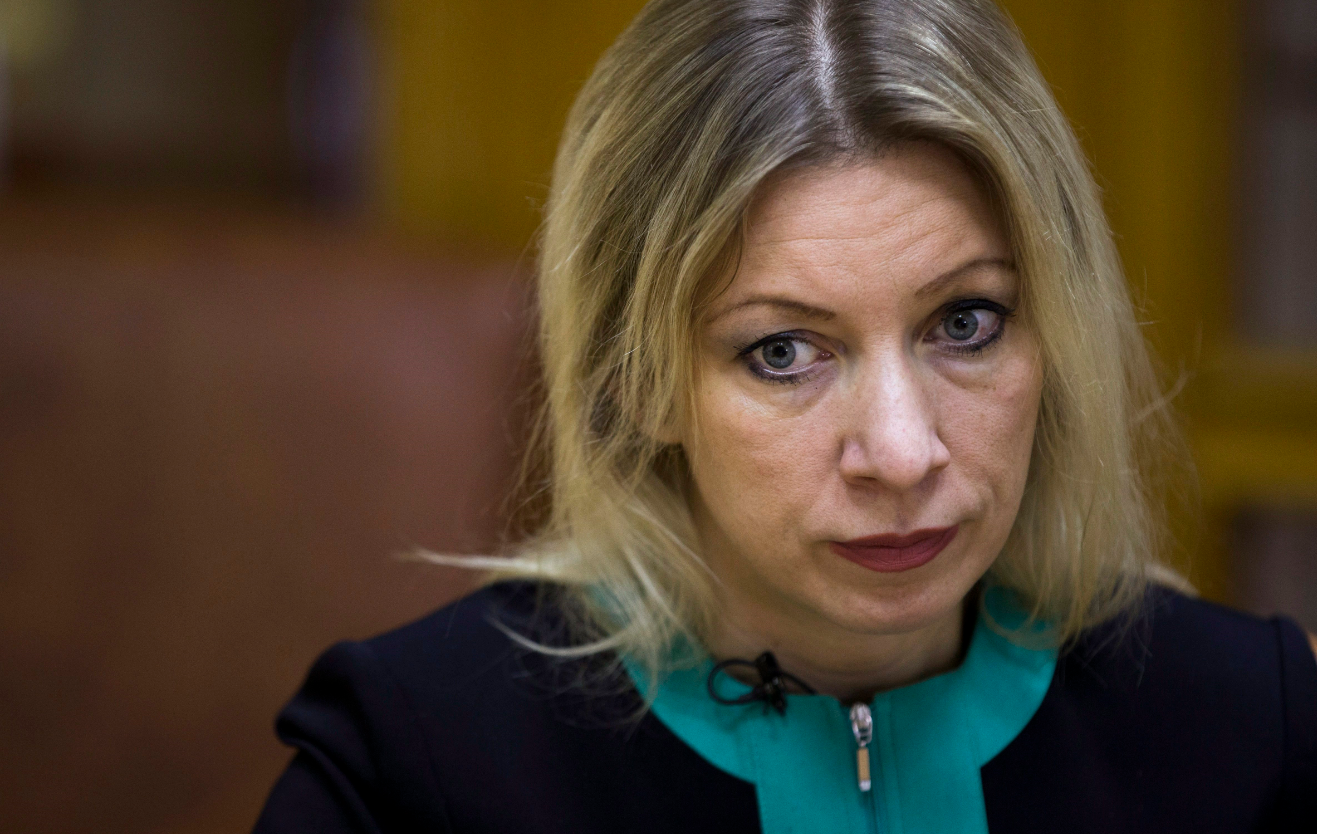Russian Foreign Ministry spokeswoman Maria Zakharova in December 2015. (Pavel Golovkin/AP)