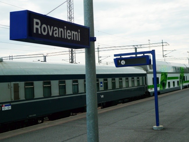 Rovaniemi could be a key point in the new Arctic rail project. (Thomas Nilsen/The Independent Barents Observer)