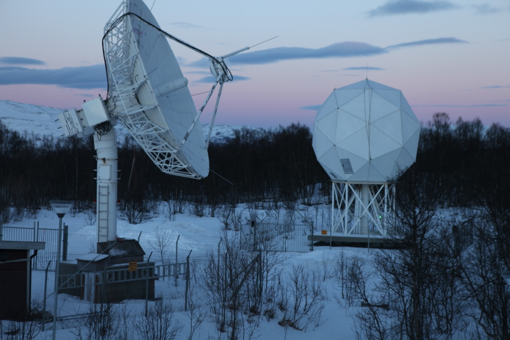 Satellite technology is key in gathering climate data. Tromso, Norway. (Irene Quaile/Deutsche Welle)