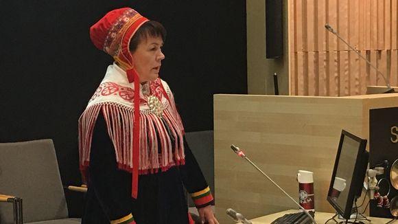 Ulla Aikio-Puoskari.(Inger-Elle Suoninen / Yle Sápmi)