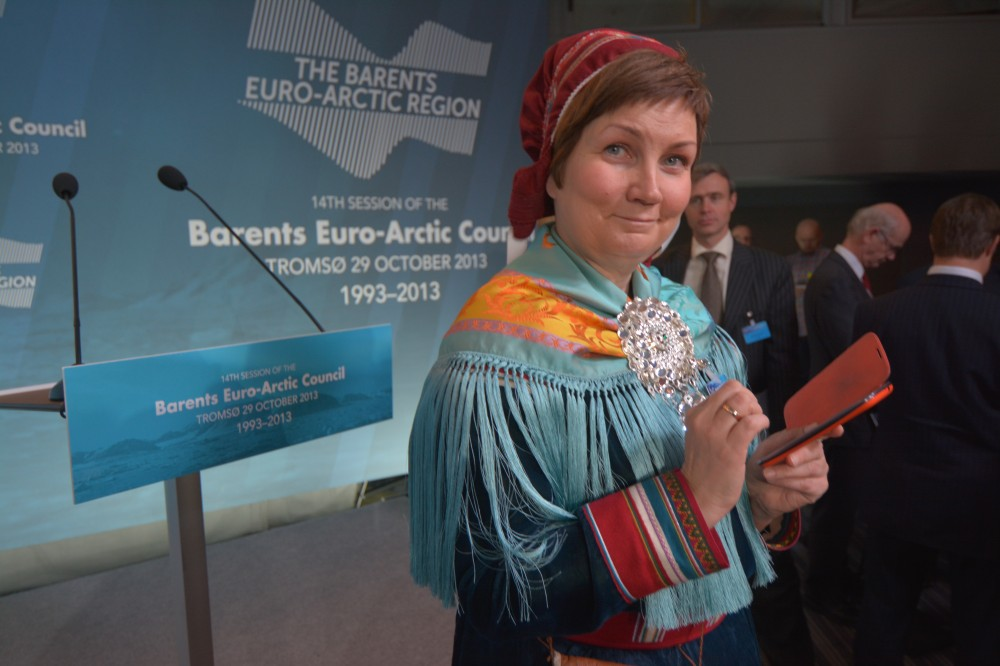 Former President of the Sami Parliament in Norway, Aili Keskitalo is worried about the ongoing harassment of indigenous peoples in Russia. (Thomas Nilsen/The Independent Barents Observer)