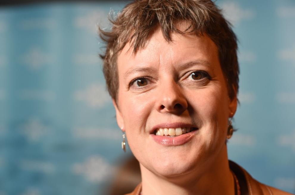 Gunn-Britt Retter. (Courtesy Thomas Nilsen/The Independent Barents Observer)