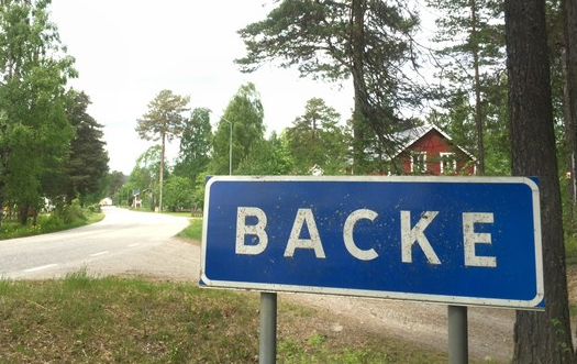 A local news site reported that school girls had been assaulted by young refugees in the village of Backe in northern Jämtland, but the story turned out to be false. (Fredrik Vestberg/Sveriges Radio)