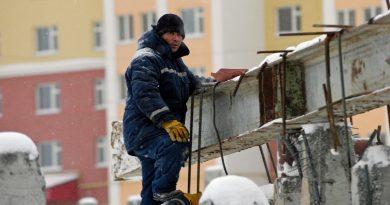 Buildings in Arctic Russia could collapse within decades says study