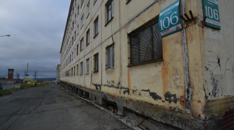 City in Arctic Russia cooling ground to preserve buildings on thawing permafrost