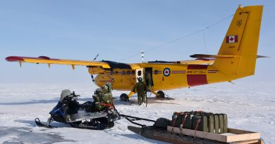 Canadian Army Exercise ARCTIC BISON 2017 challenged by winter thaw