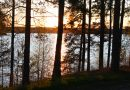 Bright nights begin as midnight sun rises over northern Finland