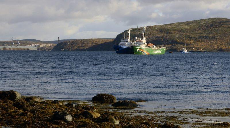 norwegian-coast-guard-tows-arctic-sunrise-to-tromso