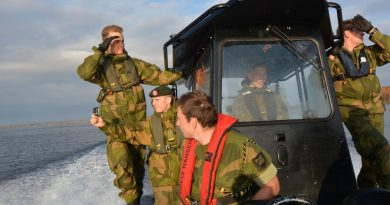 Norway beefs up military presence in Finnmark