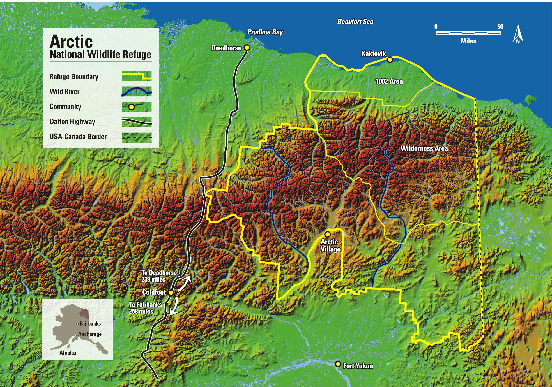 Anwr Alaska Map.Alaska Senator Reveals Anwr Drilling Details Eye On The Arctic