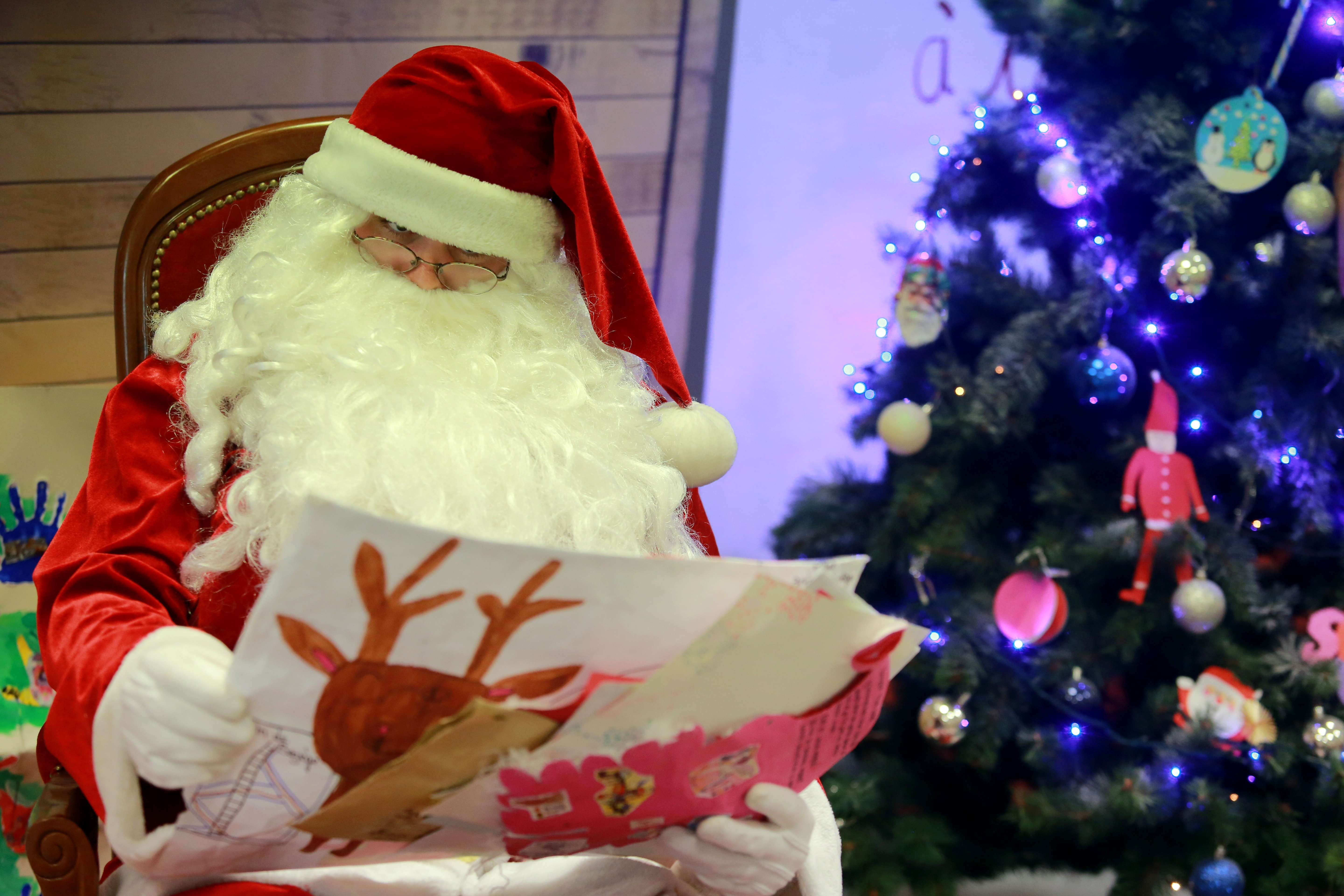 Letter to Santa Claus in 2018: Russian Post 89